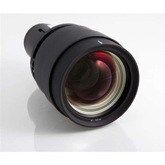 Barco Lens. FLD 2.37 – 3.79 :1 (EN14) – 2.56 – 4.1 :1 (SX+) / 2.37 – 3.79 :1 (WUXGA)