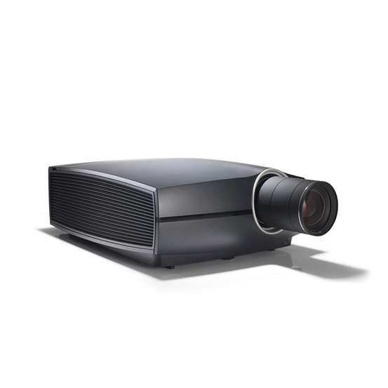 Barco Projector Body and Lens. F80-4K7 7000 Lumens 4K UHD DLP Laser – Black