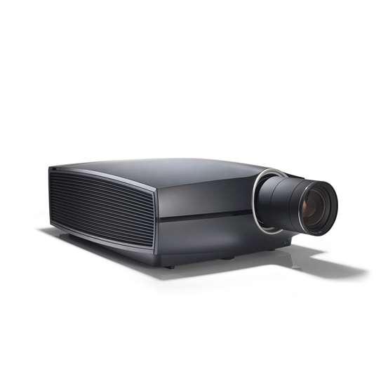 Barco Projector Body and Lens. F80-4K9 9000 Lumens 4K UHD DLP Laser – Black